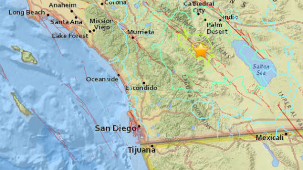 Earthquake southern California
