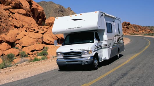 Winnebago vehicle
