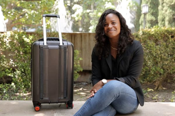 TraxPack co-founder Naisha Joseph came up with the idea after a challenging stair climb while on a trip in Jamaica.