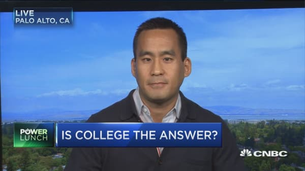Is college the answer?