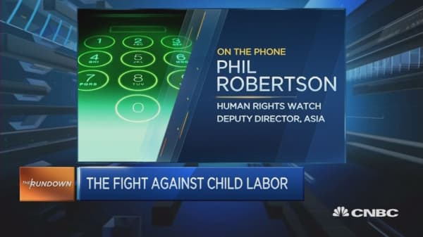 The fight against child labor