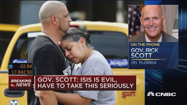 Gov. Scott: This is absolutely terrorism