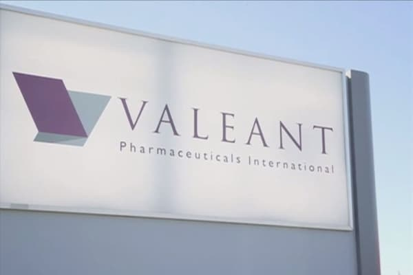 Valeant stock rising after CEO Joe Papa buys 202K shares