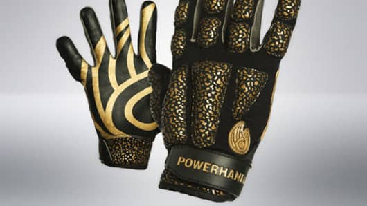 Powerhandz's anti-grip basketball gloves