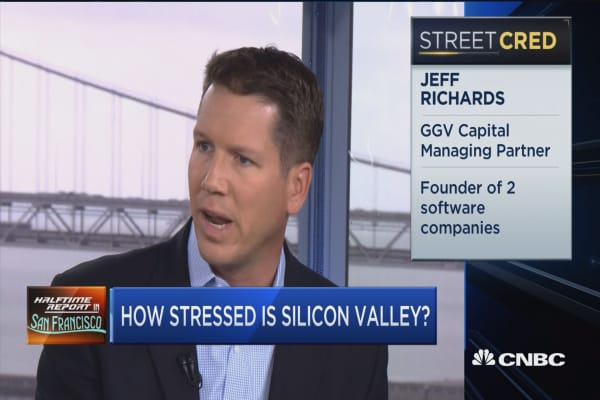 How stressed is Silicon Valley?