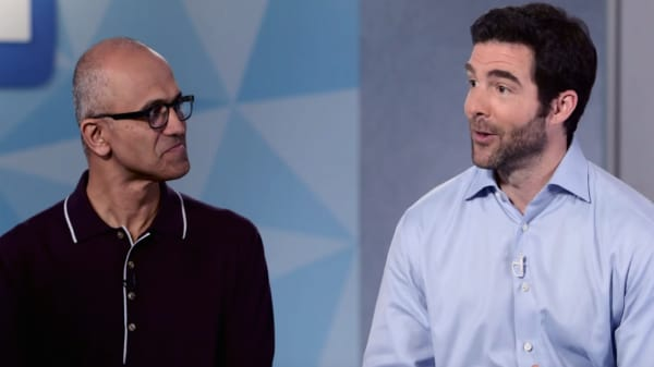Microsoft & LinkedIn CEOs on their $26.2B deal