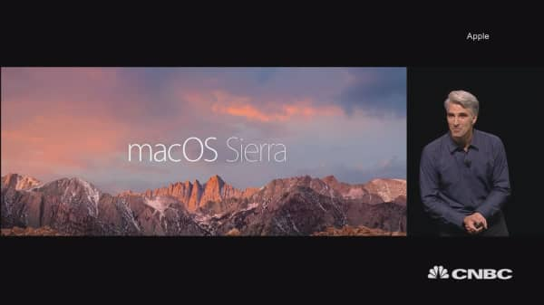 Apple announces new desktop OS called Sierra