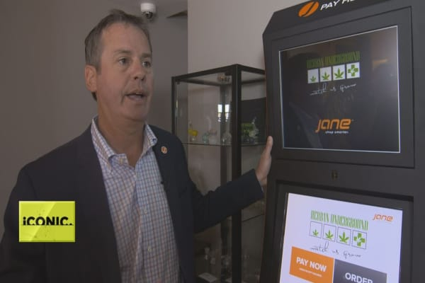 Meet Jane, the cannabis industry's kiosk solution