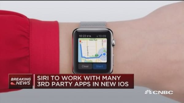 Siri to work with many 3rd party apps in new iOS