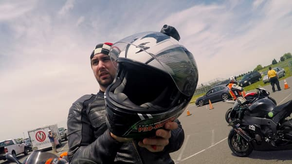 If you're lying on the side of the road: THIS helmet will call for help