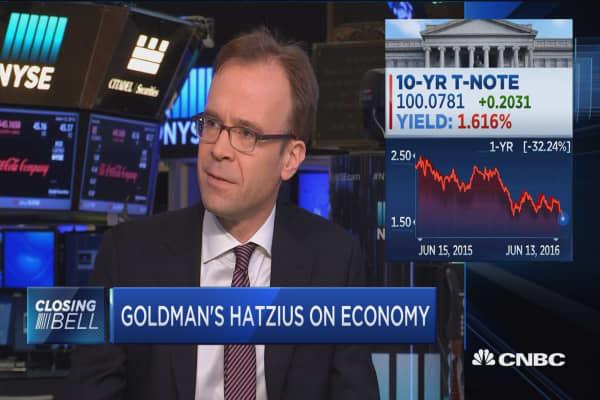 Goldman's Hatzius on Fed