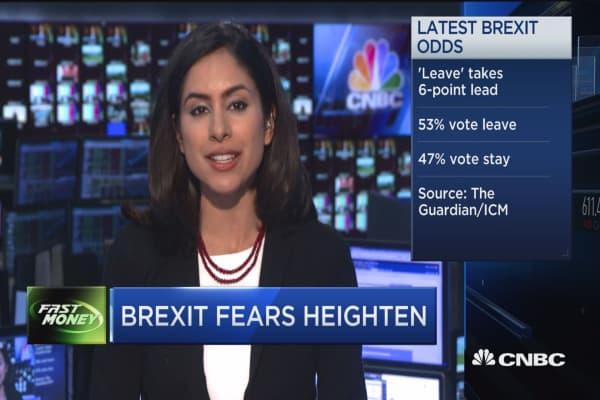 Brexit fears heighten