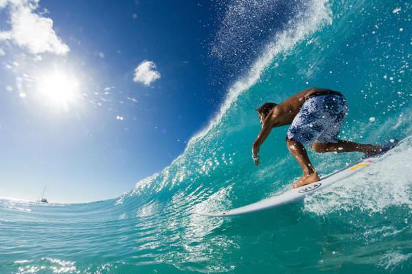 Rip Curl surfer Miguel Blanco
