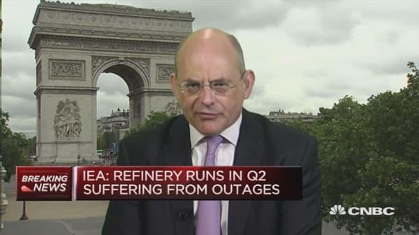 IEA raises demand outlook for oil