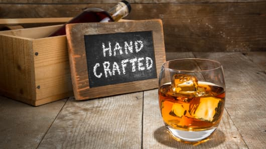 handcrafted bourbon