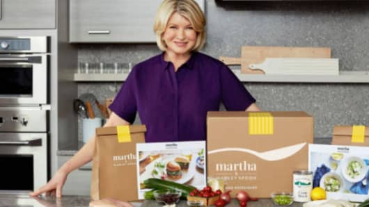 Martha Stewart's latest venture to team up with Marley Spoon.
