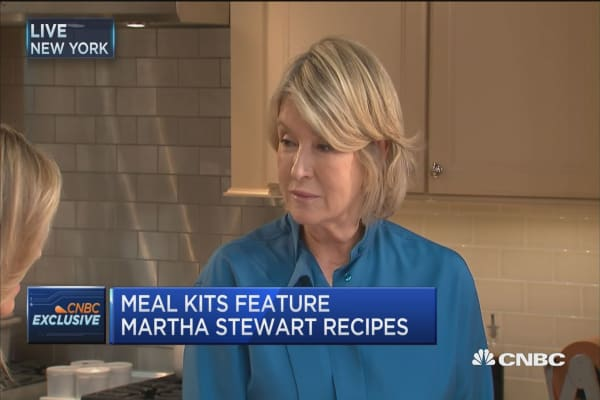 Martha Stewart's meal kit