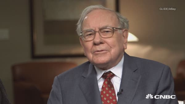 Someone just paid $3,456,789 to have lunch with Warren Buffett