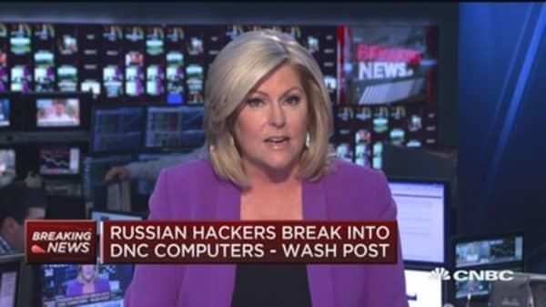 Russian hackers break into DNC computers: Report