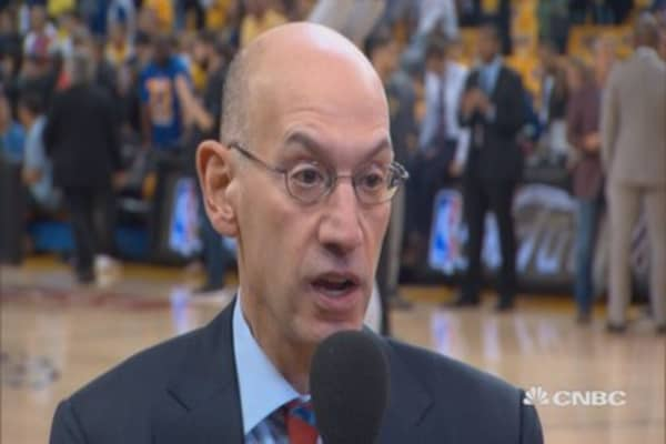 Silver on business of basketball