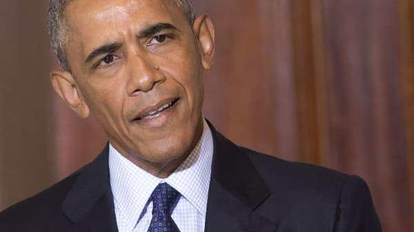 Barack Obama speaking June 14, 2016.
