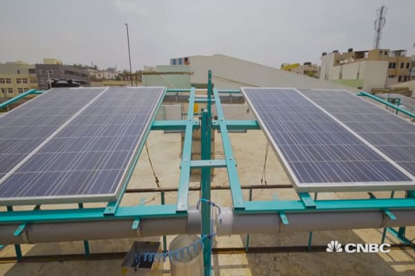 Solar is changing lives here