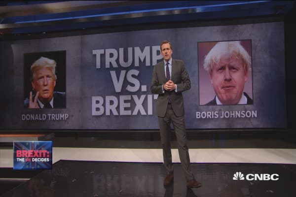 Trump vs. Brexit