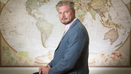Simon Cook, CEO of Draper Esprit