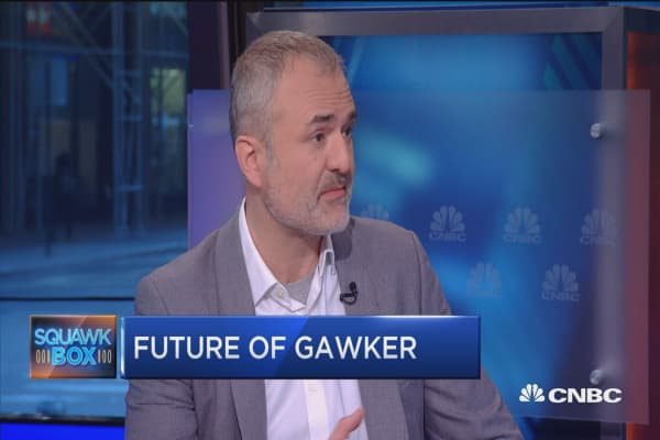 Gawker's next move: Nick Denton