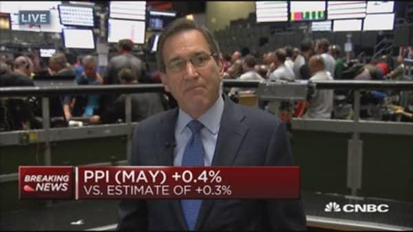 May PPI up 0.4 percent