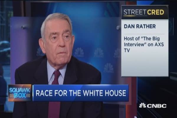 Trump plays on fear and anger: Dan Rather