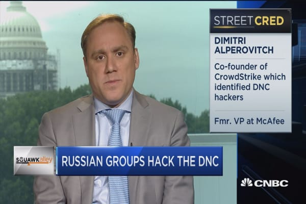 Why did Russians hack DNC?