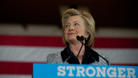 Hillary Clinton, in the wake of the Orlando mass shooting, is campaigning in Ohio and Pennsylvania to present her vision for a stronger and safer America.