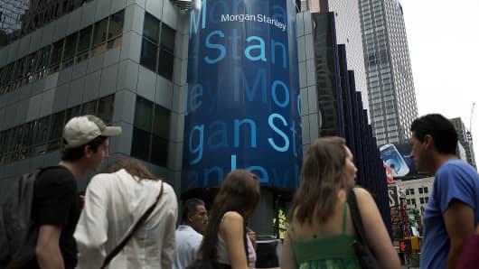 Morgan Stanley building in New York