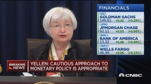 Recent economic indicators mixed: Yellen
