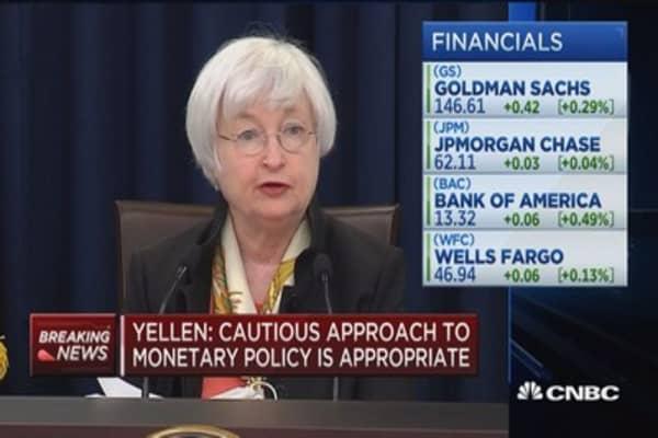 Recent economic indicators mixed: Yellen
