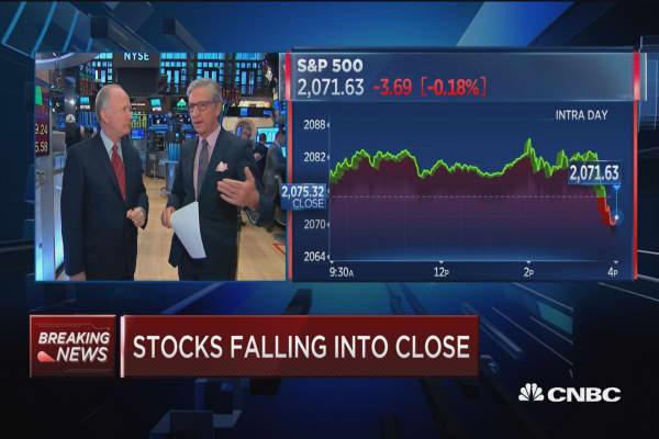 Pisani: Markets were fine until after 3:30