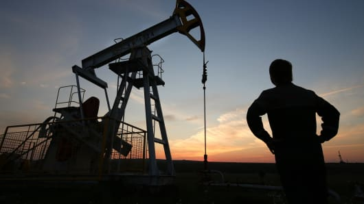 Oil price jumps to $57.8
