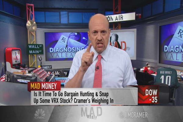 Cramer on Valeant: New CEO, but it's still rotten at the core