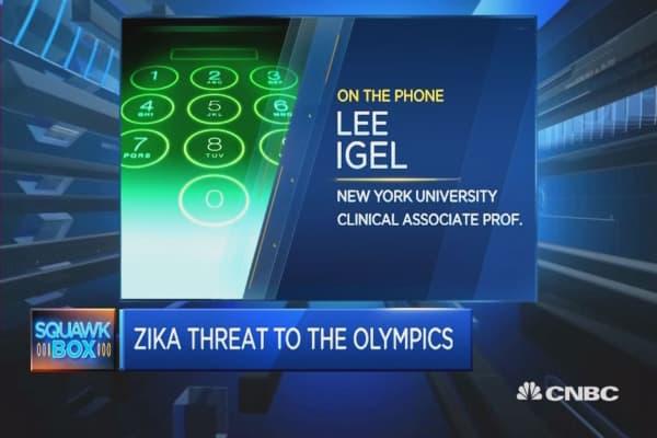 Zika Risk At Rio