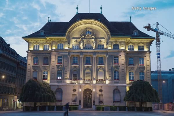 Swiss National Bank says big banks may need $10B in new capital