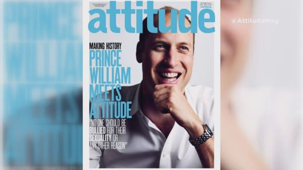 Prince William makes history by gracing cover of  gay magazine