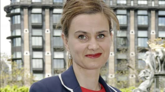 Labour Member of Parliament Jo Cox.