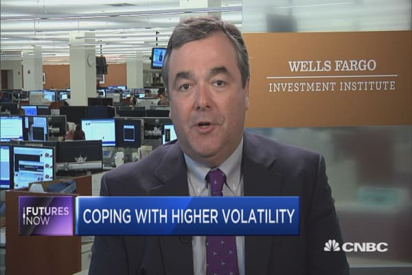Don't panic, even if volatility ramps up: Wells Fargo