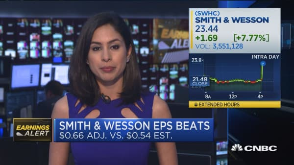 Smith & Wesson beats on both top and bottom