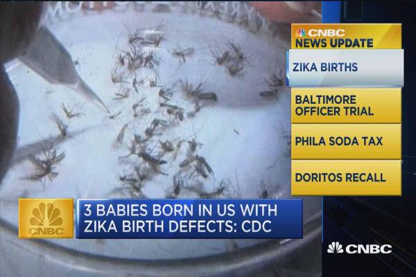 CNBC update: Zika births