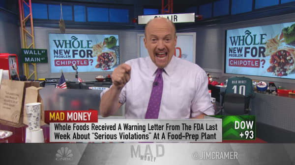 Cramer: Chipotle's tipping point for the natural and organic food industry