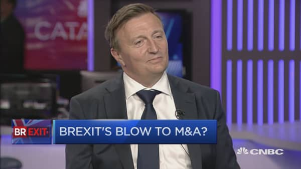Brexit is deterring M&A: Director