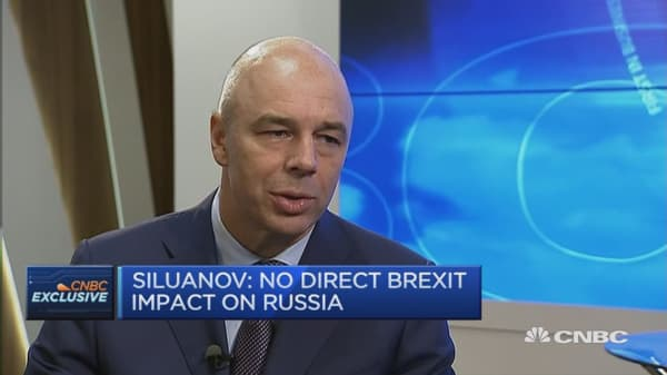 Brexit could cause exchange rate volatility: Russia FinMin