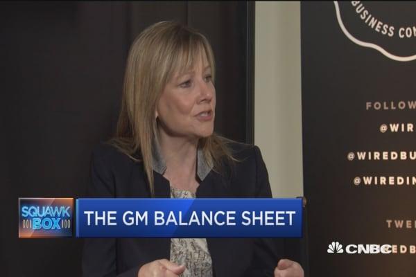 GM's Mary Barra on auto loan bubble
